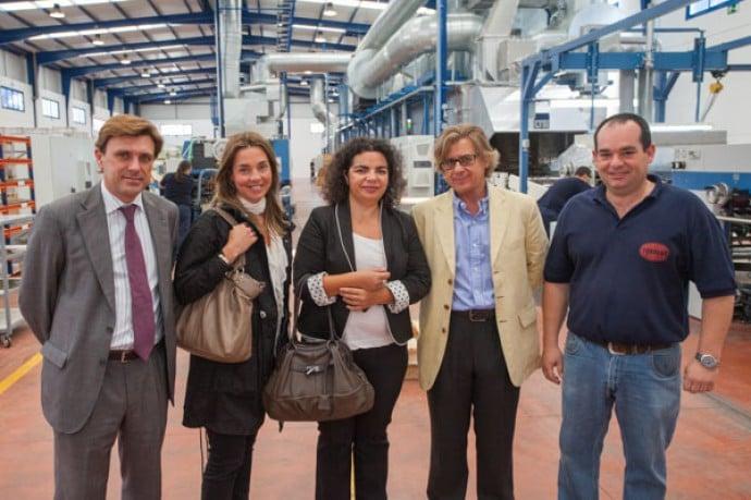 Visita de la agencia IDEA a la nueva planta de litografía | Torrent Closures