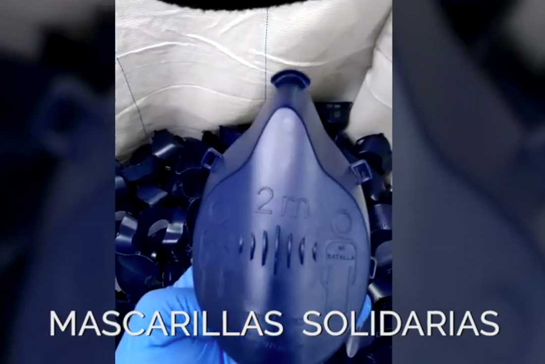 Mascarillas solidarias | Torrent Closures