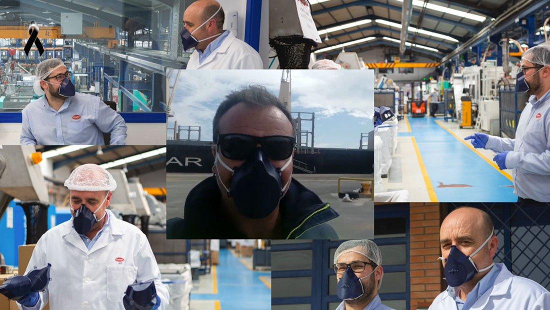 Protecciones Faciales Antiproyección 1 Grupo Torrent